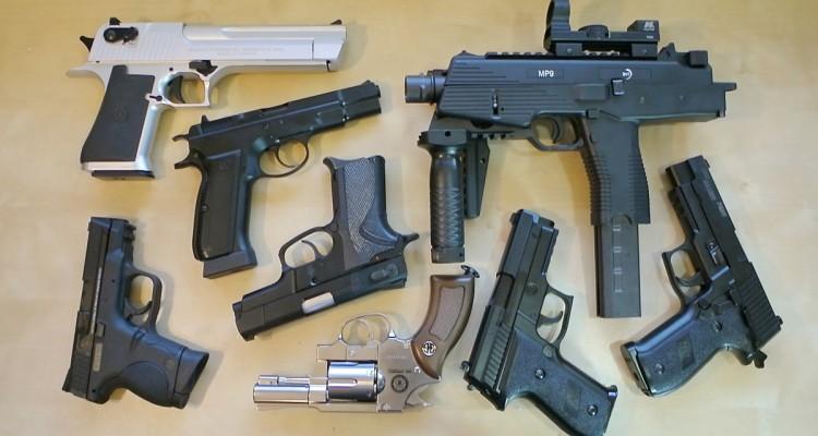 самый мощный страйкбольный пистолет в мире