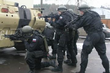 тренировки спецназа ФСБ