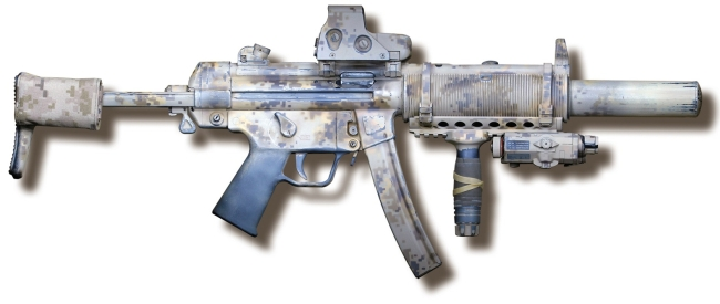 MP5 RIs тактическое цевье