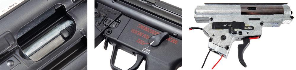 обзор MP5 A4 страйкбольного пистолет-пулемета