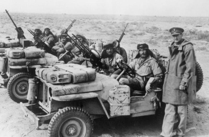 История SAS 1943 год