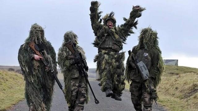 лучший спецназ Англии SAS
