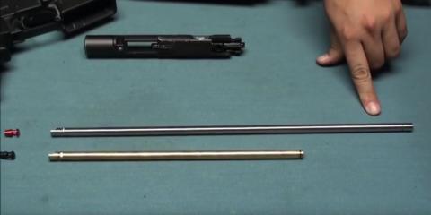 Стальной внутренний стволик для TM M4 GBB