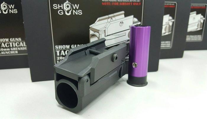 20mm grenade launcher