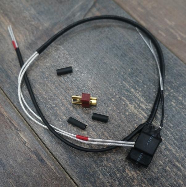 Проводка для AK под крышку.
