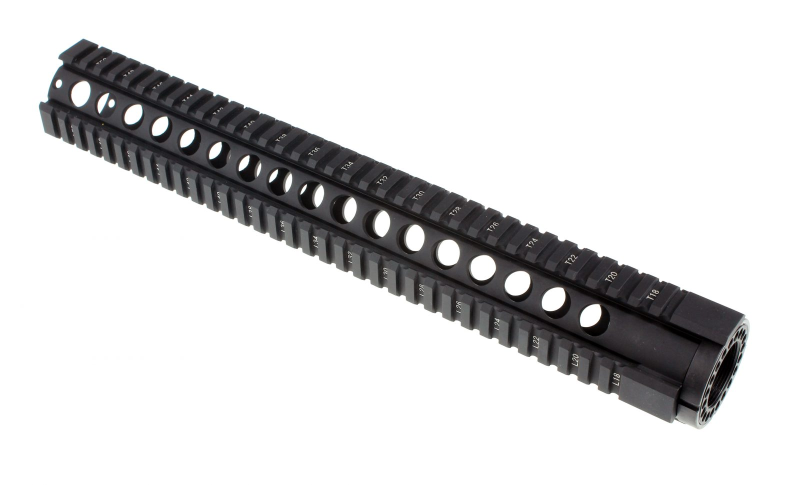15 inch free float quad rail v2 circle vent 1