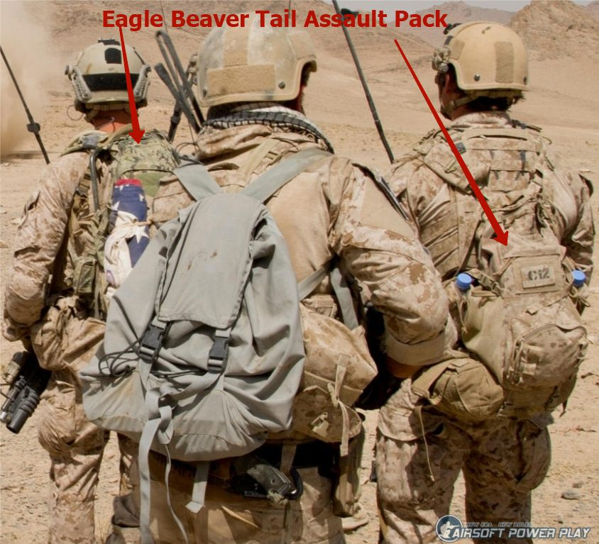 Eagle Beaver Tail Assault Pack