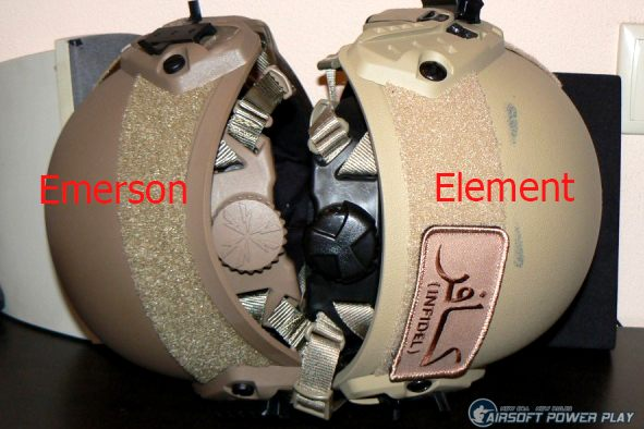 Ops Core Fast Element VS Emerson