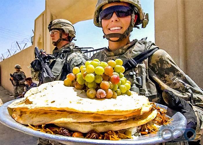 уже фото питание армии сша населенные пункты даже